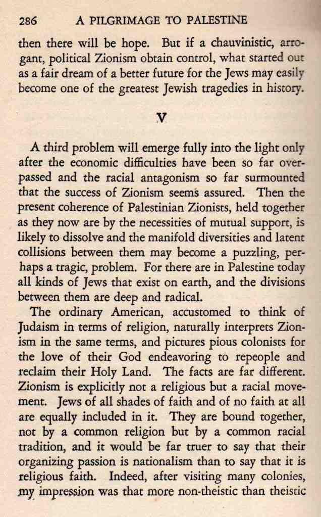 A Pilgrimage to Palestine