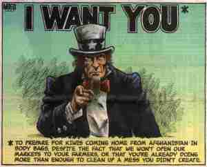 Uncle Sam wants New Zealand