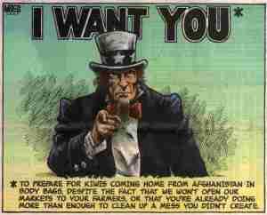 Uncle Sam wants New Zealand