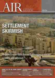 Australia/Israel Review, August 2009