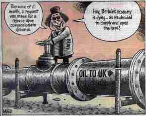 Gaddafi 'opens the taps'