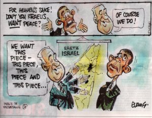 Israel stakes its claims