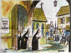 """Nuns brace for """"burqa bans"""" in Europe"""