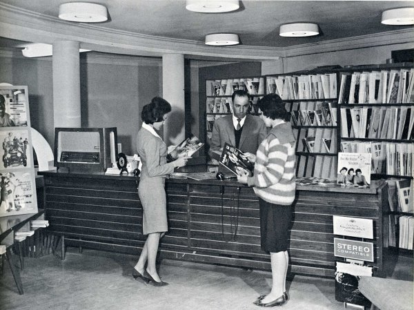 Afghan record shop, 1960s