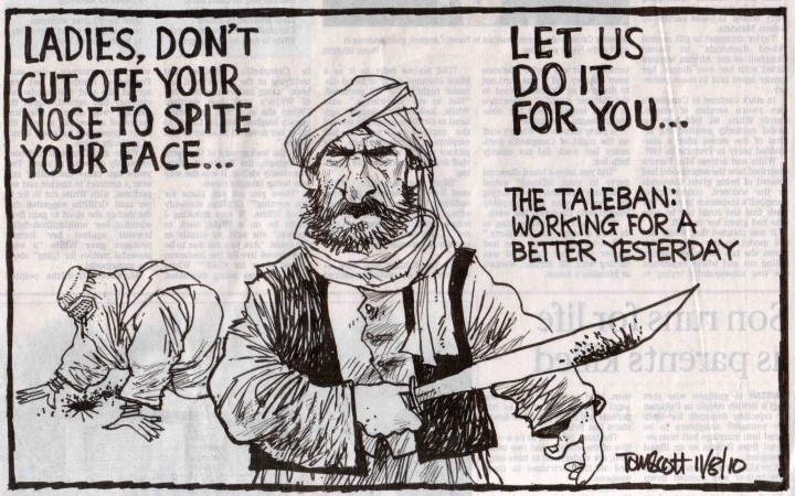 Taliban 'working for a better yesterday'?