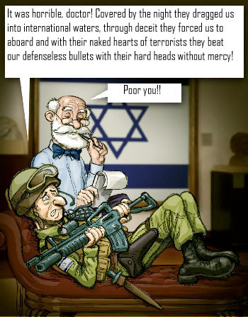 Israeli commando on psychiatrist's couch
