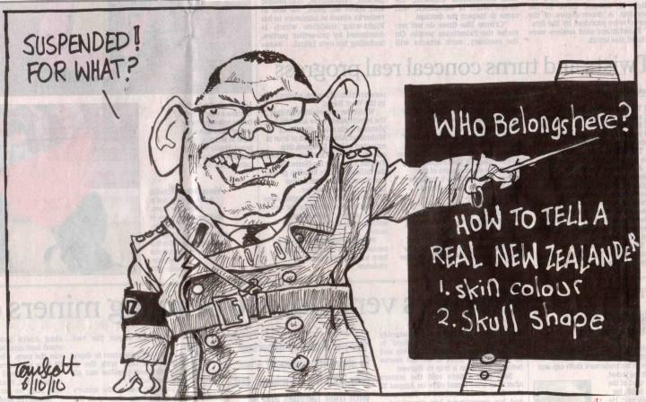 Who belongs in New Zealand?