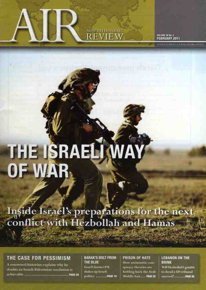 Australia/Israel Review, February 2011