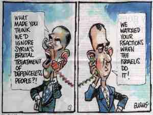 Assad slaps Obama down