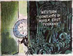 Western complicity in Middle East tyranny