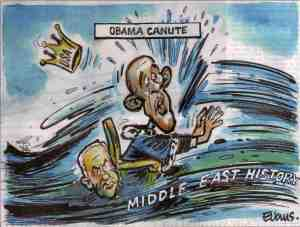 Obama defies the tide of Middle East history