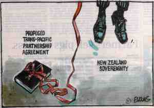 The end of New Zealand sovereignty?