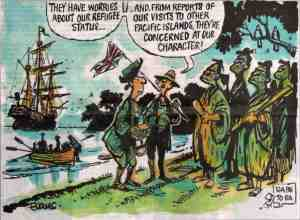 First colonists arrive in NZ