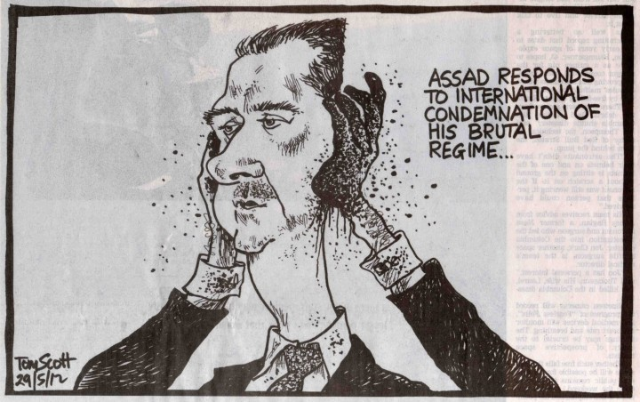 Bashar al-Assad: A view from The Dominion Post