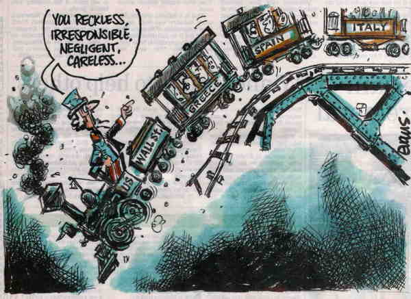 Train to disaster