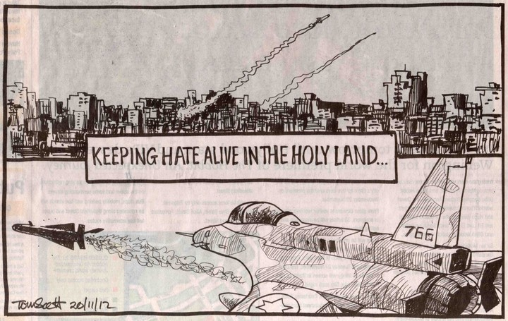 Keeping hate alive in the Holy Land