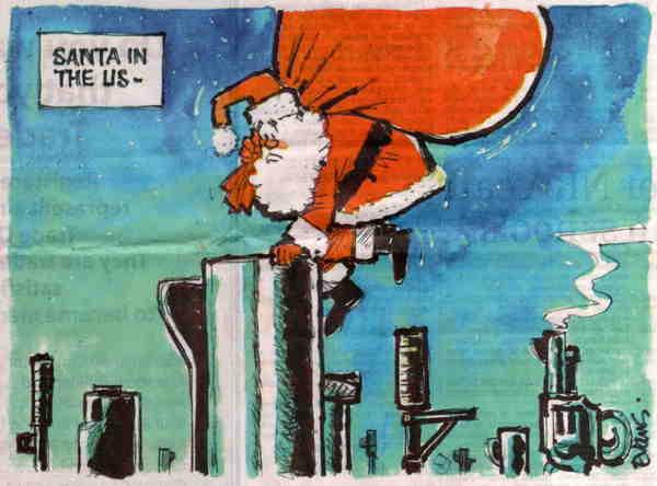 Santa in US